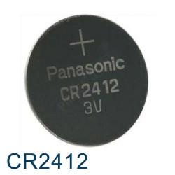 Pile Bouton CR2412 Lithium - 3V