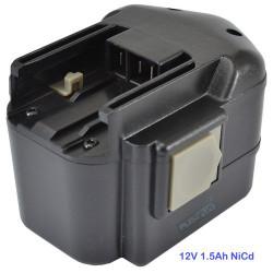 Batterie pour AEG BBS12 - 12V NiCD 1500mAh