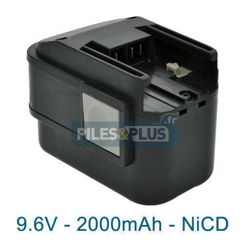 Batterie pour AEG BXS9.6 - 9.6V 2000mAh NiCD