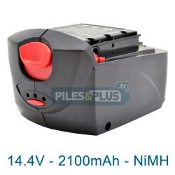 Batterie pour Skil 2602 AD - 14.4V 2100mAh NiMH