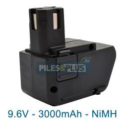 Batterie compatible Hilti SBP10 - 9.6V 3000mAh NiMH