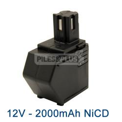 Batterie 12V NiCD 2000mAh pour Hilti SBP12