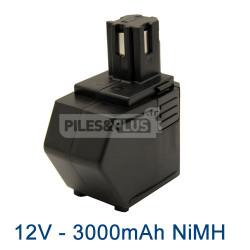 Batterie 12V NiMH 3000mAh pour Hilti SBP12
