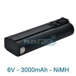 Batterie type Paslode IM350 - 6V 3000mAh NiMH