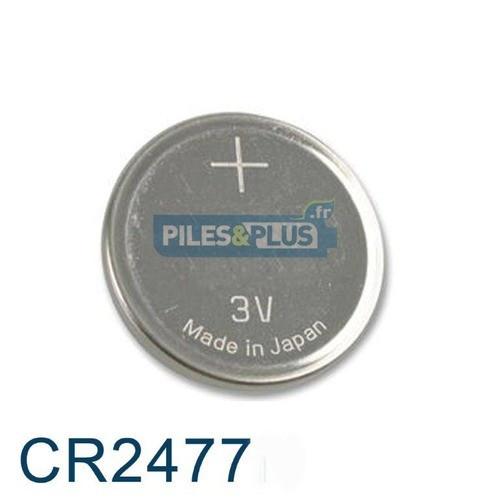 Pile Bouton CR2477 Lithium - 3V