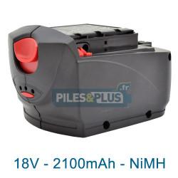 Batterie type Skil 2610394322 - 18V 2100mAh NiMH