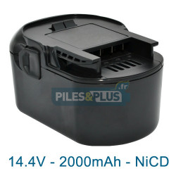 Batterie pour AEG B1415C - 14.4V NiCD 2000mAh