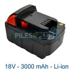 Batterie pour Milwaukee M18XC 18V Li-ion 3000mAh