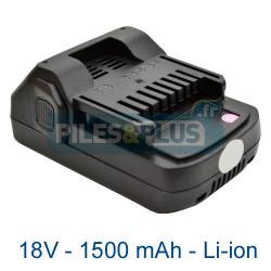Batterie Hitachi DS18DSFL 18V 1.5Ah Lithium-ion