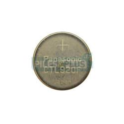 Pile bouton rechargeable CTL920 - lithium 2.3V - Par 1