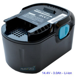 Batterie pour AEG L1420R - 14.4V Li-ion 3000mAh