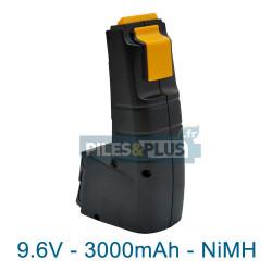 Batterie type Festool pour série CDD - 9.6V 3000mAh NiMH