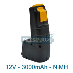 Batterie Festool BP 12C pour série CDD - 12V 3000mAh NiMH