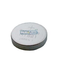 Pile bouton rechargeable MT621 - Lithium 1.5V - Par 1