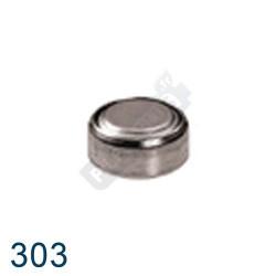 Pile montre 303 - SR44SW - pile oxyde d'argent Maxell - 1,55V