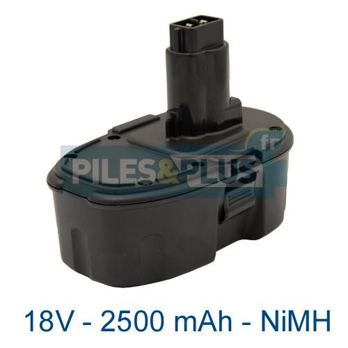 batterie dewalt de9503 18v 2500mah nimh choisissez une batterie dewalt compatible pour. Black Bedroom Furniture Sets. Home Design Ideas