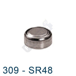 Pile montre 309 - SR48 - oxyde d'argent Energizer - 1,55V - par