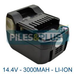 Batterie Hitachi BSL1430 14.4V li-ion 3000mAh