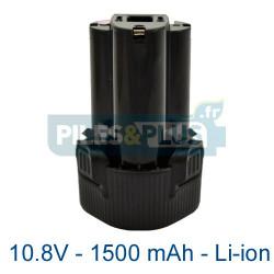 Batterie Makita 10.8V - BL1013 - 1500mAh Li-ion