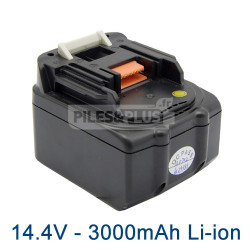 Batterie pour Makita BL1430 - 14.4V Lithium-Ion 3000mAh
