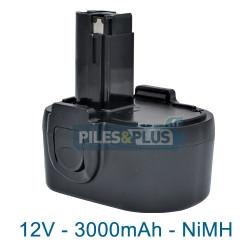 Batterie type Skil 2610388953 - 12V 3000mAh NiMH