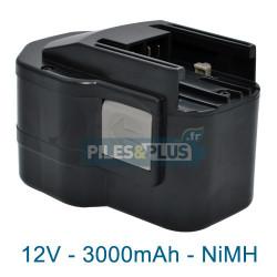 Batterie pour AEG MXL12 - 12V NiMH 3000mAh