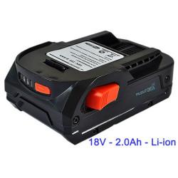 Batterie pour AEG LR1815 / LR1830 - 18V Li-ion 2000MAh