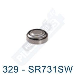 Pile montre 329 - SR731SW - oxyde d'argent Maxell - 1,55V - par 1