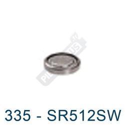 Pile montre 335 - SR512SW - oxyde d'argent Energizer - 1,55V - par 1