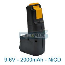 Batterie compatible Festool BPH 9.6C - NiCD 9.6V 2000mAh