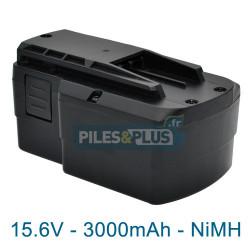 Batterie Festool BPS 15.6S pour série TDK - 15.6V 3000mAh NiMH