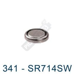 Pile montre 341 - SR714SW - oxyde d'argent Energizer - 1,55V - par 1