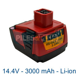 Batterie B144 - SF144 Hilti 14.4V 3000mAh Li-ion