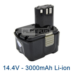 Batterie type Hitachi BCL1430 14.4V 3Ah Li-Ion
