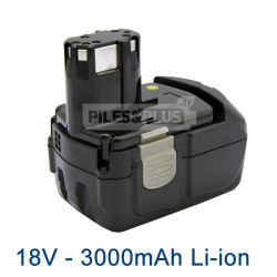 Batterie Hitachi EBM 1830 Li-Ion 18V 3000mAh
