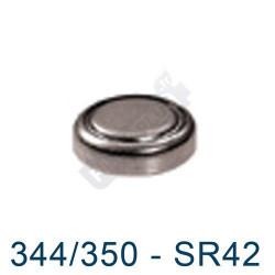 Pile montre 344/350 - SR1136SW - oxyde d'argent Maxell - 1,55V
