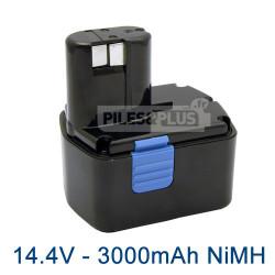Batterie Hitachi EB1426H - 14.4V 3000mAh NiMH