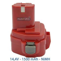 Batterie 14.4V type Makita PA14 - 1500mAh NiMH