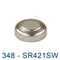 Pile montre 348 - SR421SW - oxyde d'argent Maxell - 1,55V - par 1