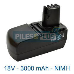 Batterie Metabo BSZ18 - 18V 3000mAh NiMH