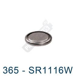 Pile montre 365 - SR1116W - oxyde d'argent Energizer - 1,55V - par 1