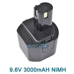 Batterie RYOBI 1400669 - 9.6V 3.0AH NIMH