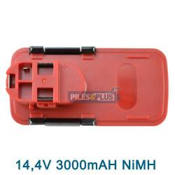 Batterie Bosch type 2607335252 - 14.4V NIMH 3000mAh