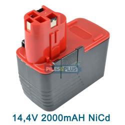Batterie Bosch type 2607335160 - 14.4V NICD 2000mAH