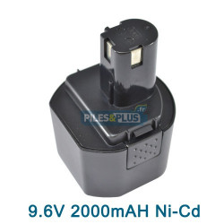 Batterie pour RYOBI B-9620F2 - 9.6V 2.0AH NICD