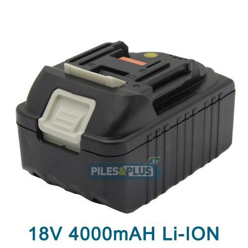 Batterie pour MAKITA type BL1830 - 18V Li-Ion 4000mAh