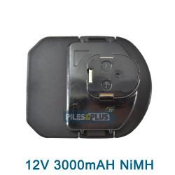Batterie RYOBI B-1230H - 12V 3.0AH NIMH