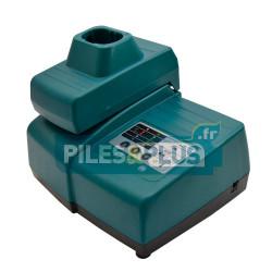 Chargeur pour batterie Makita coulissante de 7,2V à 18V