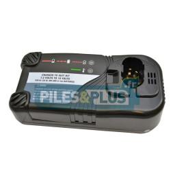 Chargeur pour batterie type Hitachi standard 7,2V - 18V