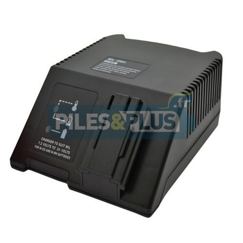 Chargeur de batterie Milwaukee standard 7,2V - 18V